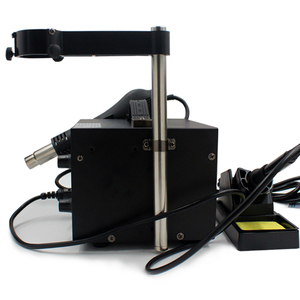 Image 4 - Electric Soldering Iron Rework Station Hot Air Welding Tool Stand Dryer Holder Air Tool Support Fit for Saike 952D 852D Solderin