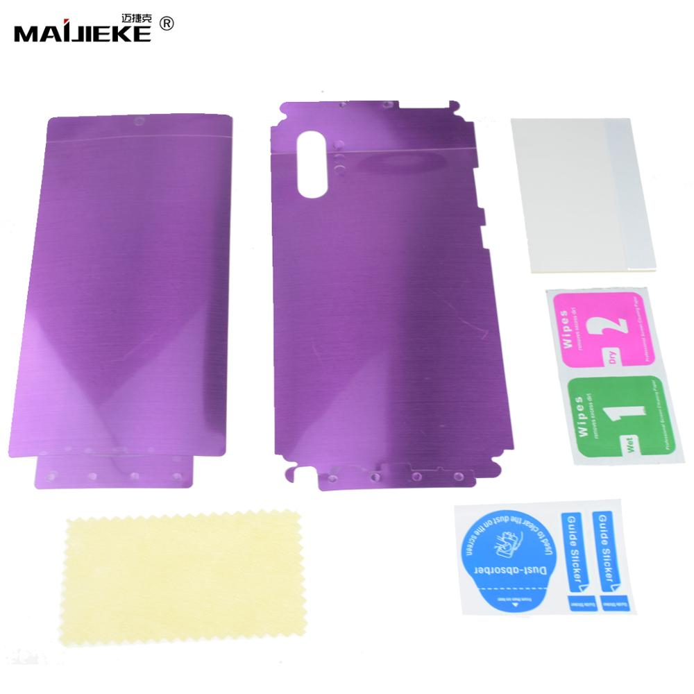 Image 3 - 10D Front+Back Hydrogel Film for Samsung Galaxy S10 plus S10 5G S10e S9 S8 plus Note 10 plus Note 9 8 Nano Full Body Memory Film-in Phone Screen Protectors from Cellphones & Telecommunications on AliExpress