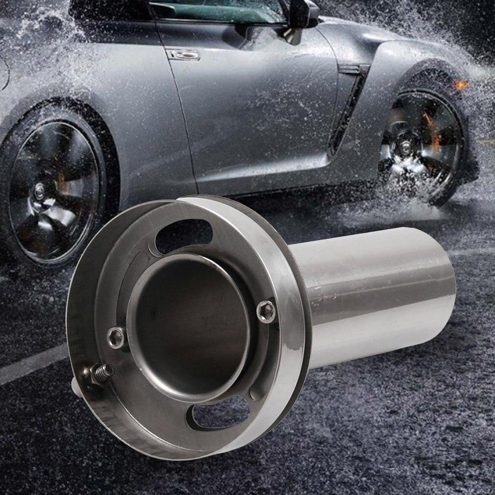 Universal Runde Spitze Abnehmbare Verstellbare Schalldämpfer Auspuff Catback System Heißer Verkauf Markt Trend 3,5 4 4,5 Einstellbar