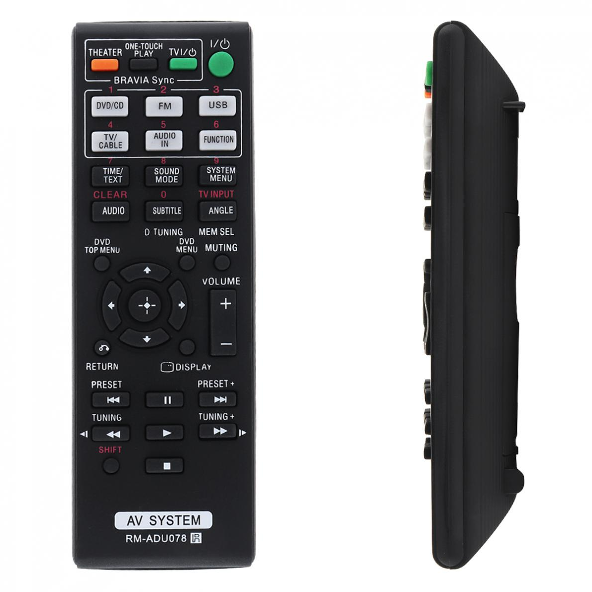 IR 433MHZ AV Remote Control with Long Transmission Distance for Sony RM ADU078 HBD DZ170 DZ171 DZ175 TZ210 TZ510 TZ in Remote Controls from Consumer Electronics
