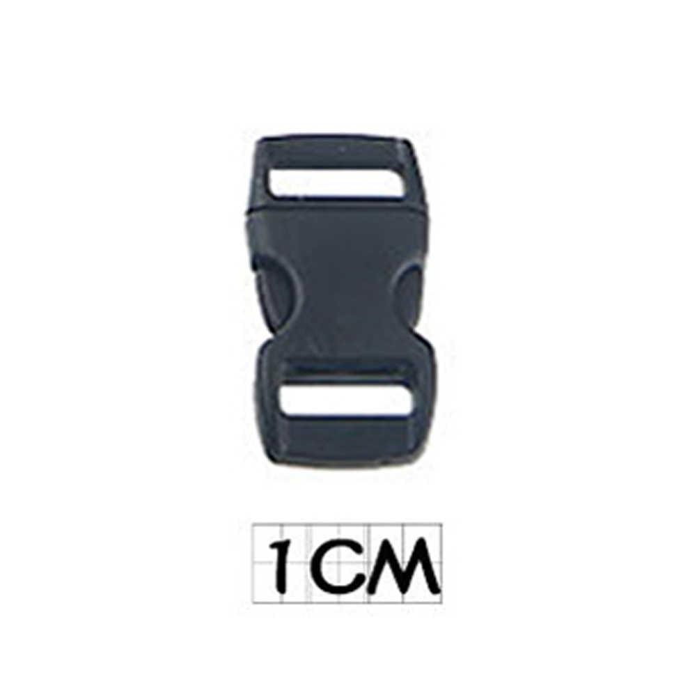 حزام على ظهره حقيبة حزام الجانب الإفراج مقاطع Buckles قابل للتعديل الأسود البلاستيك فك إبزيمات المشبك 10-50 مللي متر أكياس اكسسوارات