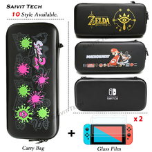 Nintend Switch Storage Case Nitendoswitch EVA Protective Hard Cover NS Portable Carrying Bag for Nintendo Switch Game Console