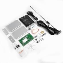 100KHz 1.7GHz UV HF RTL SDR USB טיונר מקלט + U/V אנטנת DIY ערכות