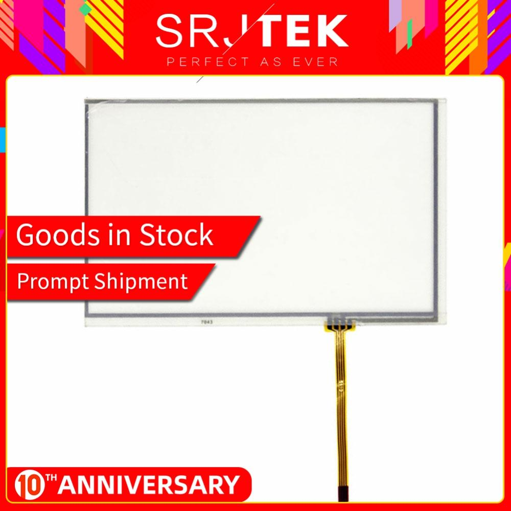 SRJTEK AT070TN92 Resistance 7 Inch 164*99mm 165*100mm Touchscreen For Innolux AT070TN94 90 Touch Screen Panel Digitizer Glass