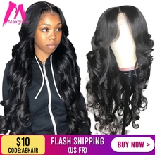 360 lace frontal wig body wave brazilian short Deep front human
