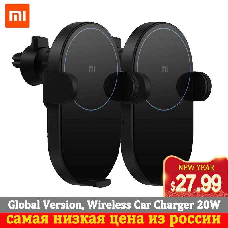 Xiaomi Wireless Car Charger 20W Max  Electric Auto Pinch Qi Quick Charging Mi Wireless Car Charger For Mi 9 Iphone X XS Original