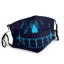Masque facial de jeu vidéo, anti-poussière, Non-jetable, couvre la Protection du visage, respirateur pour adulte