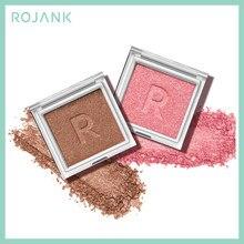 ROJANK charmante Palette de fard à paupières miroitant et mat unique couleur naturelle longue durée maquillage Palette facile à porter cosmétiques pour le visage