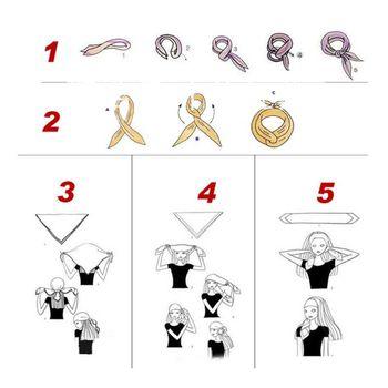 20 Colors Novelty Bandanas Paisley Print Cowboy Bandana Handkerchiefs Scarves 23GE