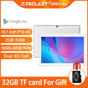 Teclast P10 4G 10.1 Inch Tablet Android 8.0 MTK6737 Quad Core Dual 4G call GPS 2GB RAM 16GB ROM Dual Camera Phone Call Tablets