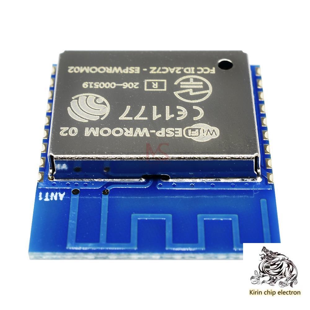 5PCS/LOT ESP8266 Serial WIFI Industry Milestone, Model: ESP-WROOM-02