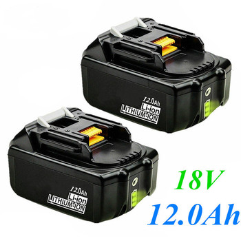 Original 18V 12000mAh Rechargeable Power Tools Battery For Makita with LED Li-ion Replacement Btteria LXT BL1860B BL1860 BL1850