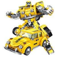 2020 New Star Wars 2in 1 Deformation Hornet Robot Building Blocks Playmobil Compatible PANLOS toys for children's|Blocks| |  -