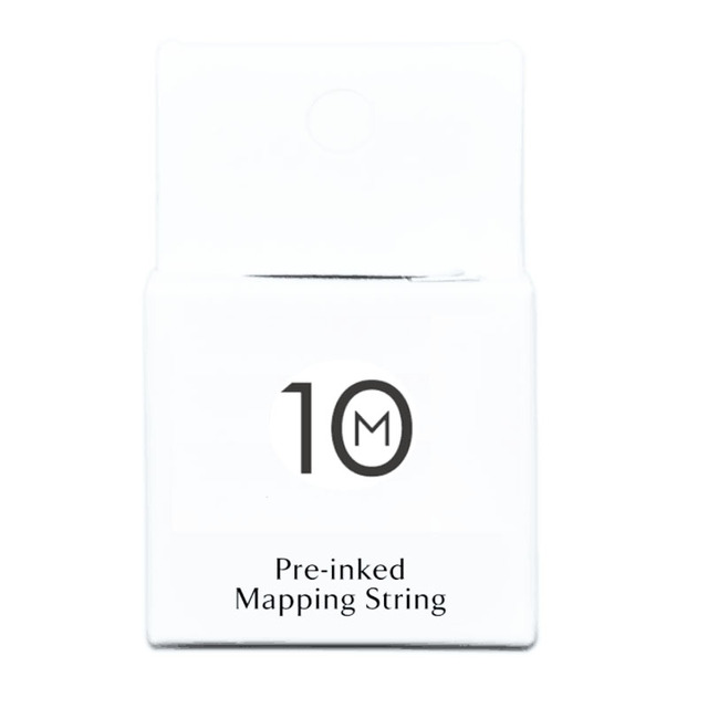 Eyebrow Mapping String for Microblading – Pre-Inked – 1 mm Fine Bamboo Charcoal Thread – 10 Meters/32 Feet per Box