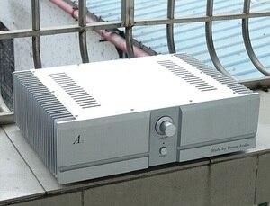 Двойной алюминиевый чехол BRZHIFI BZ4312A2 для усилителя мощности класса А