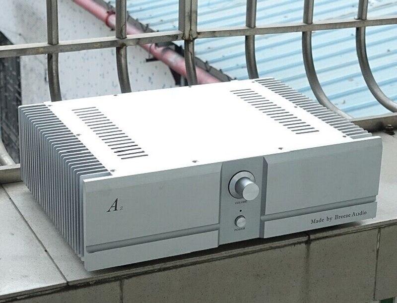 BRZHIFI BZ4312A2 Double Radiator Aluminum Case For Class A Power Amplifier