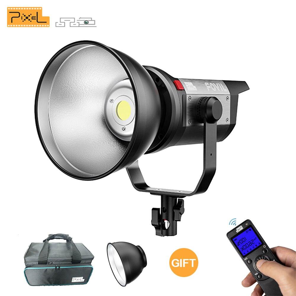 Píxel C220 220W LED vídeo película luz 5600K fotografía iluminación profesional Control inalámbrico para la grabación de vídeo de YouTube