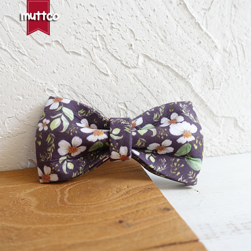 Muttco Pet Decorations Dog Tie Bow Tie-Style Collar Bowtie Ubt-044