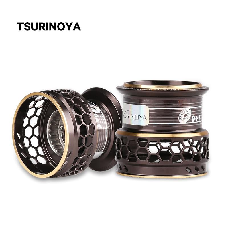 TSURINOYA Fishing Reel Jaguar 4000 5000 Spare Spool Handle Drag Knob Spare Parts Accessories For Repair Deep Shallow Spool