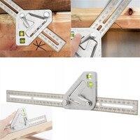 Ascendas 다기능 목공 삼각형 눈금자 각도 눈금자 혁신적인 목공 도구 측정 도구 TP-0308