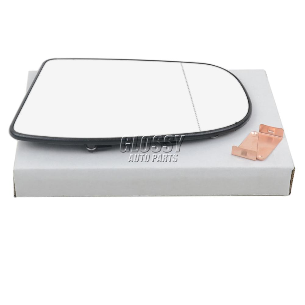 AP02 Left Side Heated Wing Rearview Mirror Glass + Holder For <font><b>Mercedes</b></font> C W203 CL203 S203 <font><b>E</b></font> W211 <font><b>S211</b></font> E320 image
