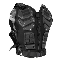 Chaleco militar táctico Molle armadura chaleco entrenamiento Paintball CS protección