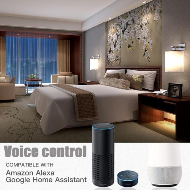 Bougie forme intelligente RGB Wifi ampoule E27 E14 B22 intelligente LED ampoule gradateur lampe Compatible avec Alexa Google Home