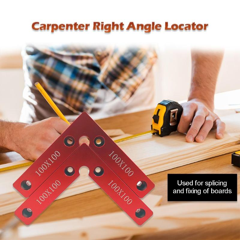 Positioning Woodworking Fixture Squares Clamping Calibration Accuracy Portable 90 Degrees Right Angle Clamps Corner Clamp Ruler