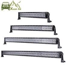 Barra de luces LED 5D para todoterreno, 52 pulgadas, 500W, para 4x4, camiones de carretera, SUV, ATV, 4WD, 12V, 24V, Combo de 42 pulgadas, 400W