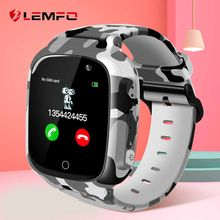 LEMFO LEC2 Newest 1.3 Inch Smart Watch Kids Support SIM TF Card Camera GPS Wifi 600Mah Battery Take Video For Children(China)
