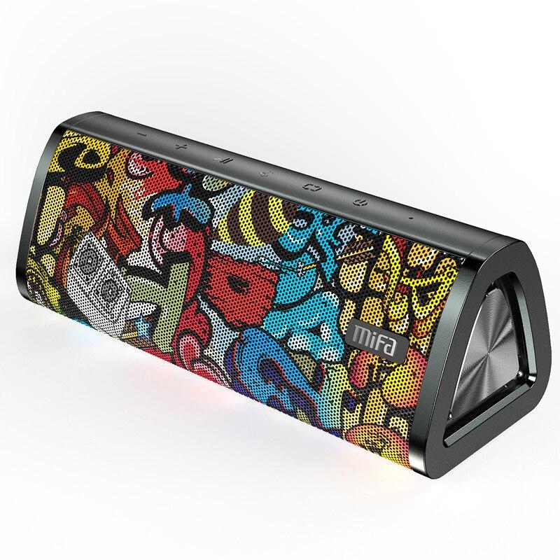 Mifa A10 + Tragbare bluetooth lautsprecher 360 ° Stereo Sound 20W IPX7 wasserdichte drahtlose bluetooth 5,0 lautsprecher 24-stunde Spielen zeit