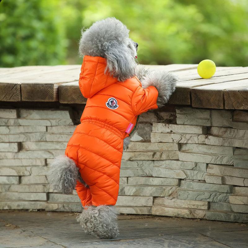 Orange-Puffer-Jacket