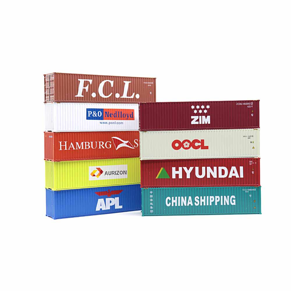 O Container Decals 1:87 oder H0 P