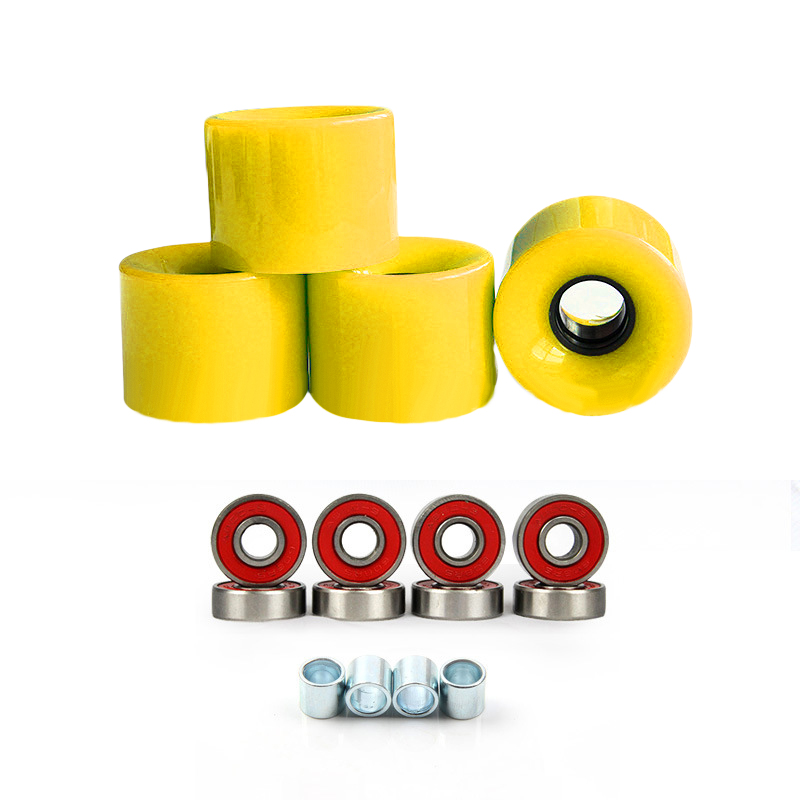78A Skateboard Wheels 60mmx45mm Assorted Bearings Spacers For Longboard