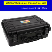 Professional Tool Case Impact Resistant Safety Case Suitcase Toolbox camera Box Equipment Camera Case with Pre-cut Foam Lining(China)
