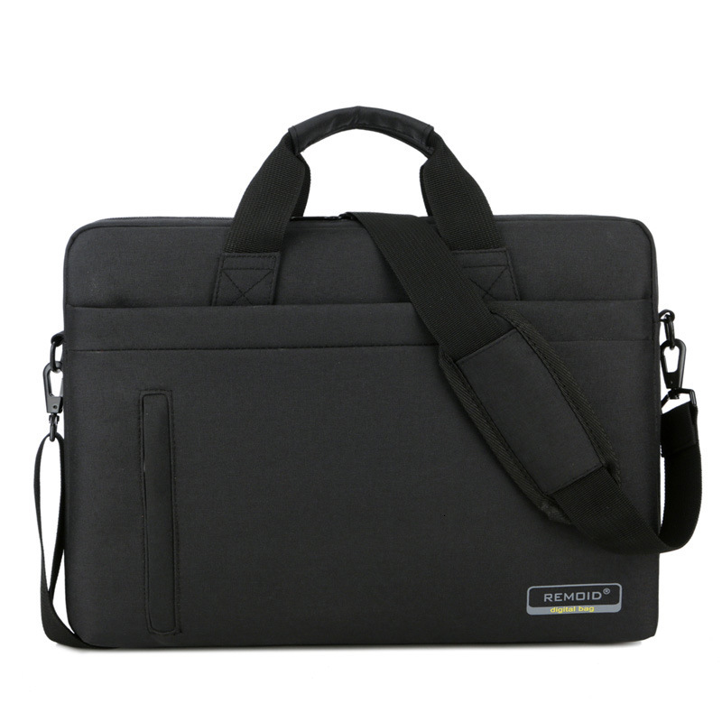 Nylon 15.6 17inches Laptop Bag Waterproof Office Documents Briefcase Women Men Travel Shoulder Handbag
