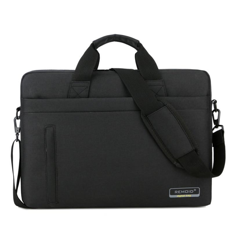 Nylon 15.6 17inches Laptop Bag Waterproof Office Documents Briefcase Women Men Travel Shoulder Handbag
