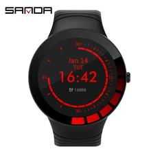 Sanda New E3 Smart Watches Bracelet Monitoring Multi-Function Remind Sports Intelligent Watch For Men Women intelligent partial discharge diagnosis for condition monitoring
