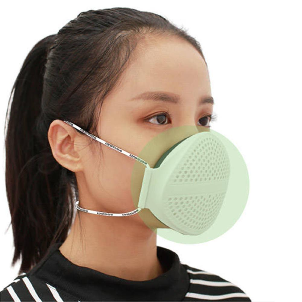 Antiviral Sport Face Mask With Filter Activated Carbon PM 2.5 Anti-Pollution Anti-fog Running Cycling Mask