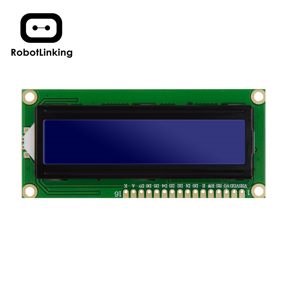 LCD Module Display Monitor 1602 5V Blue(Yellow Green) Screen And White Code For Arduino UNO 2560 Raspberry PI Board