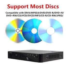 Image 5 - LONPOO yeni DVD OYNATICI taşınabilir USB 2.0 DVD OYNATICI multimedya dijital DVD TV desteği HDMI fonksiyonu siyah