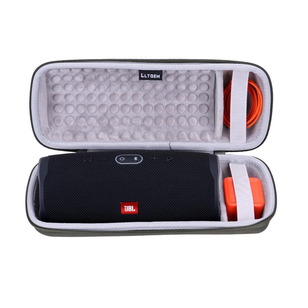LTGEM EVA Hard Case For JBL Charge 4 Portable Waterproof Wireless Bluetooth Speaker