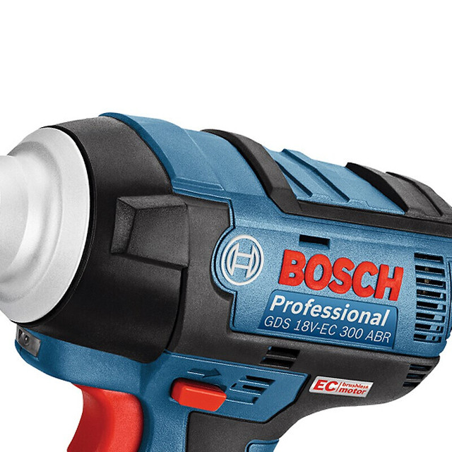 Bosch 18V Cordless Impact Wrench Lithium Battery Rechargeable Electric Wrench GDS 18V-EC 300 ABR 300N.m Brushless Impact Wrench 4