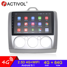 GPS Navigation Car-Accessories Audio Android 2-Din 4G for Focus EXI MT/AT 2-3-Mk2/mk3