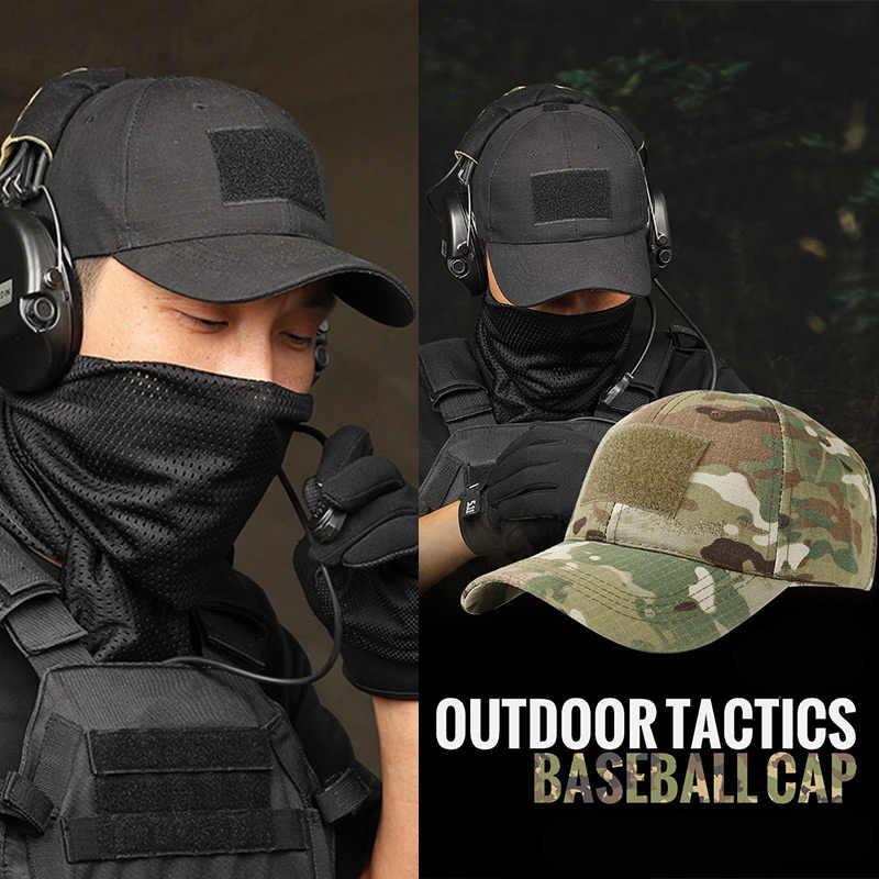 Casquette de Baseball pour hommes, Camouflage gorras, 17 couleurs, chapeau de camionneur, nouveau chapeau tactique pour homme, à rabat, 2020