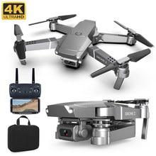 Novo e68 rc drone 4k 1080p hd grande angular wifi fpv vídeo altura ao vivo modo de espera quadcopter altitude manter câmera zangão brinquedo presente