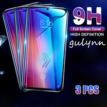 3Pcs New 9H Protective Glass Film on the For Xiaomi Redmi Note 4 4X 6 7 Pro Redmi K20 Go S2 Tempered Screen Protector Glass Case(China)