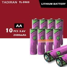 10 шт. тадиран TL-5903 ER14500 14505 3,6 V AA литиевая батарея plc