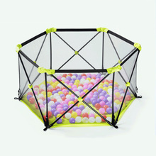 Children's Game Fence Foldable Safety Protection Indoor Home Fence Baby Outdoor Amusement Park Kids Portable Playpen baby kids safety protection care playpen tent crawling game folding fence toys fencing play house indoor outdoor for children
