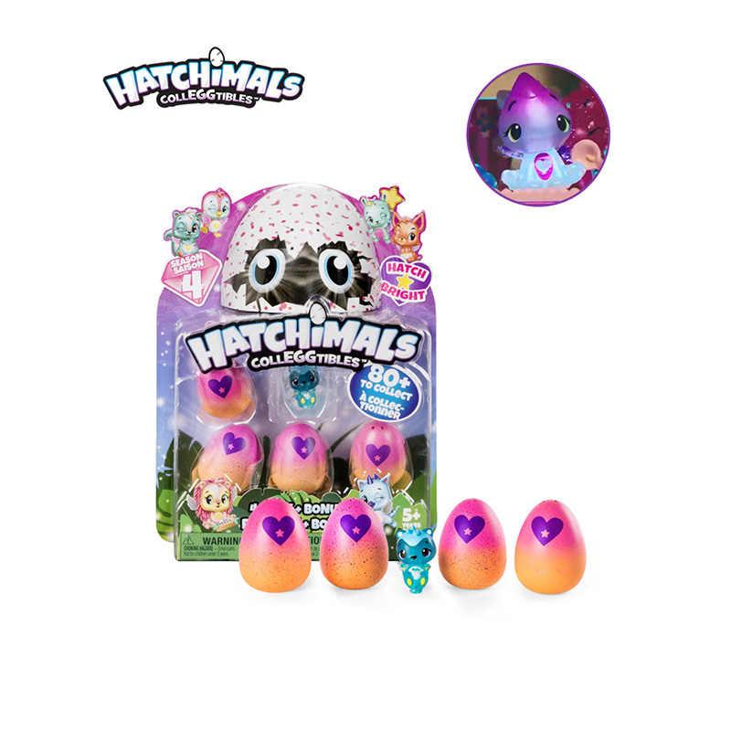 SPIN MASTER Toy Action Figures Hatchimals Hachi escotilha ovo mágico ovo mágico criativo mini ovo animais boneca estática temporada 4 presente
